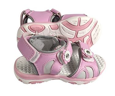 Peach Couture Kids Toddler Open Toe Beach Water Shoes Athletic Sports Sandals Pink