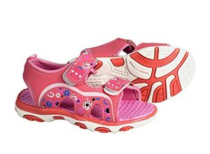 Pink Orange Toddler Open Toe Beach Water Shoes Athletic Sports Sandals