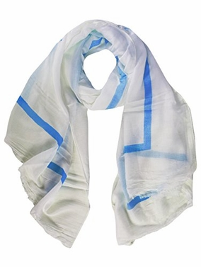 Lightweight Cotton Blend Sophisticated Scarves Shawls