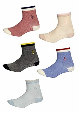 Men's Women's Super Soft and Cozy Comfortable Crew Socks Pack of 5