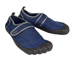 Navy Grey Athletic Shoes Sports Water Shoes Beach Wear Sandals for Men 10