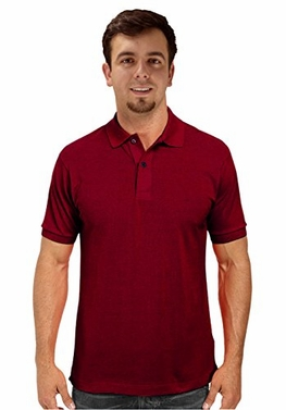 Men's Short Sleeve Classic Pique Polo Shirt