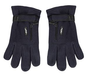 Peach Couture Mens Weatherproof Fleece Insulated Winter Snow Ski Gloves Navy 79