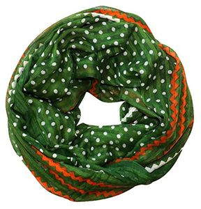 Green White Orange