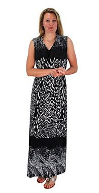 Paisley Floral Animal Print Exotic V Neck Cocktail Plus Sized Maxi Dress 3X Plus