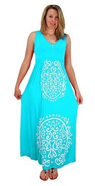 Sleeveless Smocked Damask Embossed Long Maxi Dress Mint