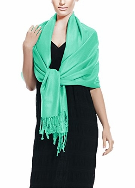 Soft and Silky Bamboo Rayon Pashmina Feel Shawl Scarf Wrap