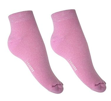 Peach Couture Soft and Warm Comfortable Cashmere Over-Ankle Women's Socks