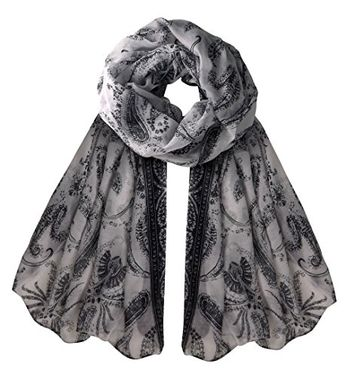 Summer Fashion Light Weight Paisley Design Scarf Sarong Shawl Wrap