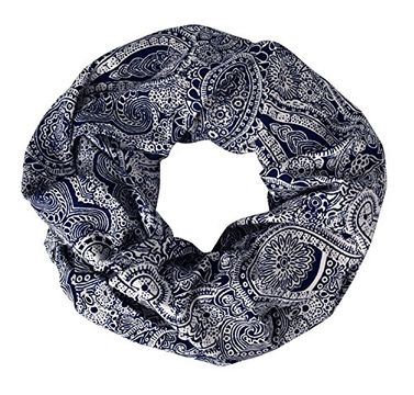 Summer Fashion Paisley Printed Infinity Loop Scarves