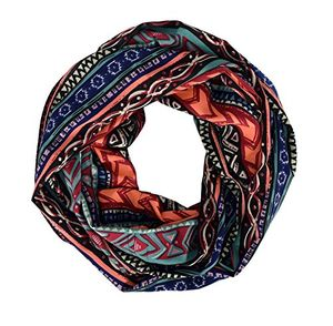 Tribal and Aztec Prints Light Weight Infinity Loop Scarves