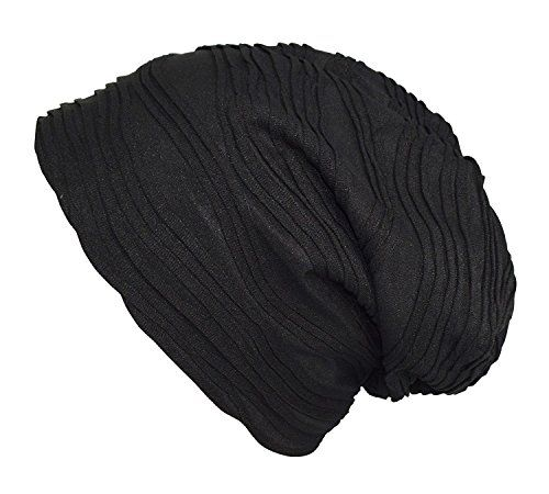 Peach Couture Unisex Fleece Lined Winter Beanie Hat Skull Caps Wave