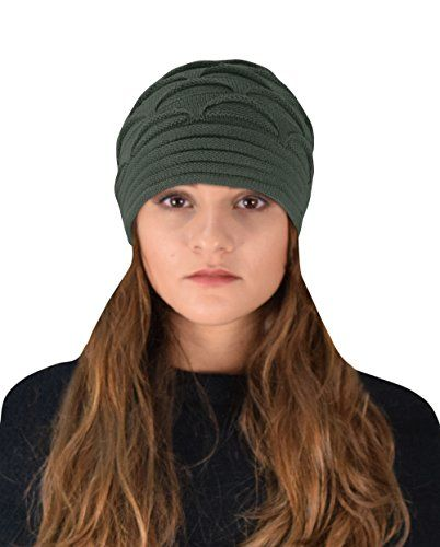 Winter Warm Soft Knitted Baggy Beanie Slouchy Hat Skull Cap