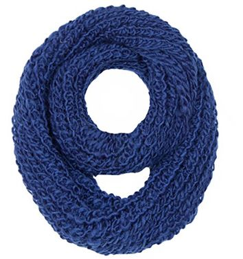 Winter Warm Thick Chunky Knit Cozy Scarves Infinity Loop Cowl