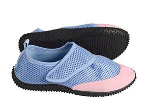 Turquoise Women's Athletic Durable Quick Dry Aqua Socks Beach Water Shoes