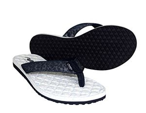 Navy Women's Casual Strappy Summer Slipper Shower Sandal Beach Flip Flops
