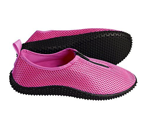 Womens Athletic Water Shoes Slip on Quick Drying Aqua Socks Medium