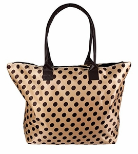 Polka Dot Beige Brown