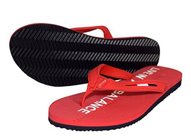Peach Couture Womens Summer Beach Pool Flip Flops Casual Strappy Slip ONS Red