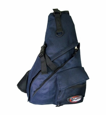 Single Strap Sling Travel Comfort Hiking Compartment Backpack (Regular, Navy)