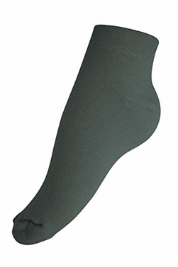 Women�s Soft & Warm Comfortable Cashmere Over-Ankle Socks (Dark Grey)
