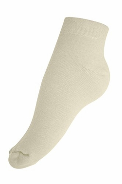 Women�s Soft & Warm Comfortable Cashmere Over-Ankle Socks (Off White)