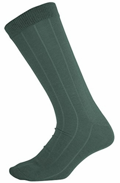 Men�s Soft & Warm Comfortable Ribbed Cashmere Socks (Dark Grey)