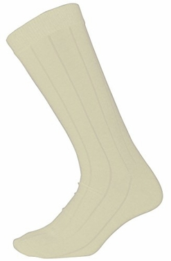 Men�s Soft & Warm Comfortable Ribbed Cashmere Socks (Off White)