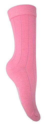 Women's  Soft & Warm Comfortable Ribbed Cashmere Socks (Baby Pink)