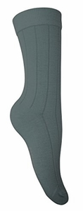 Women's  Soft & Warm Comfortable Ribbed Cashmere Socks (Dark Grey)