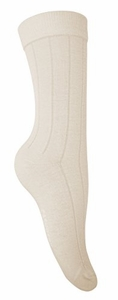 Women�s Soft & Warm Comfortable Ribbed Cashmere Socks (Off White)