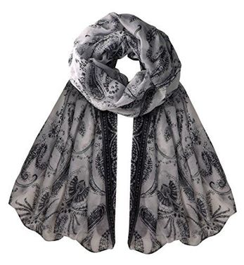 Summer Fashion Paisley Design Scarf Sarong Shawl Wrap