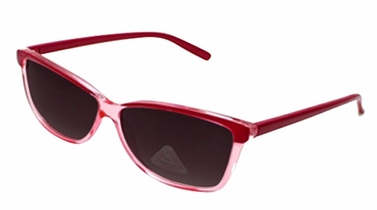 Pink Translucent Retro Poly-carbon Lens Wayfarer Sunglasses