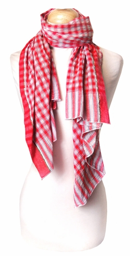 Trending Checkered Plaid Scarves