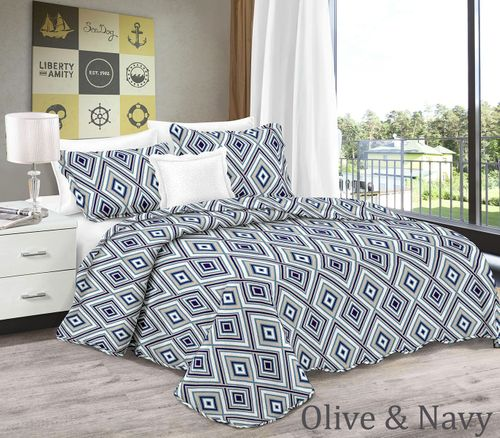 Bright Fun Bohemian Style Patchwork Quilt Set Coverlet Bedspread 3 Piece Set