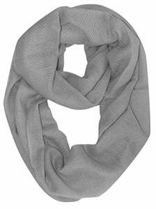 Warm Luxurious 100% Cashmere Infinity Loop (Gray Blue)