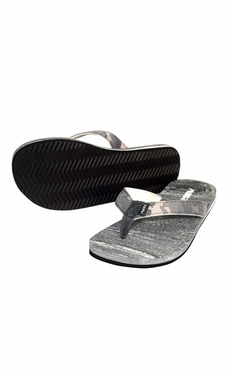 Women�s Bright Fun Flip Flops Pool Beach Water Shoes Grey
