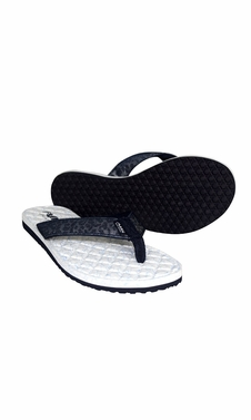 Navy Women�s Casual Strappy Summer Slipper Shower Sandal Beach Flip Flops