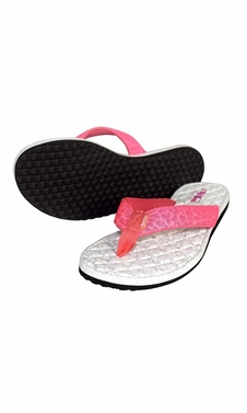 Women�s Casual Strappy Summer Slipper Shower Sandal Beach Flip Flops Pink