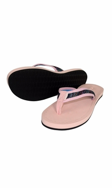 Women�s Casual Strappy Summer Slipper Shower Sandal Beach Flip Flops Pink Rainbow