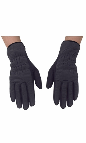 Black Texting Touchscreen Fleece Lined Winter Driving Gloves