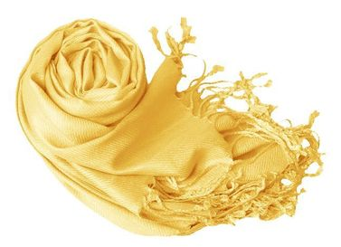 Yellow Pashmina Shawl Wrap Scarf
