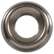 1/4 Stainless Steel Finish Washers Box of 100
