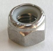 #10 - 32  Stainless Steel Lock Nuts Box of 100