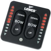 15070-001 123SC Lenco Marine LED Tactile Trim Switch With Retractor
