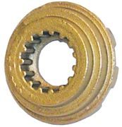18-3714 Brass Castle Washer