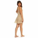 PilyQ Oro Laura Cover-Up Dress - Gold