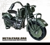 Indian military motorcycle CUSTOM MADE