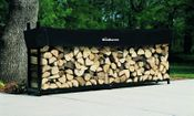 10' Woodhaven Firewood Rack and Standard Cover