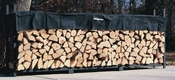 12' Woodhaven Firewood Rack and Standard Cover